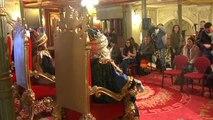 Singular rueda de prensa de los Reyes Magos en Bilbao