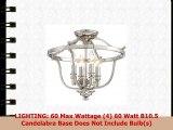 Minka Lavery Semi Flush Mount Ceiling Light 3296613 Audreys Point Lighting Fixture