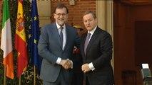 """Rajoy hace caso omiso de las advertencias de Aznar sobre """"rearmar ideológicamente"""" el centro derecha en España"""