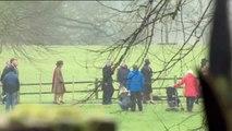 Isabel II reaparece en público tras dos semanas ausente por un resfriado