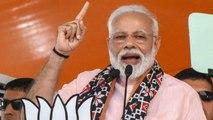PM Modi slams Mahagathbandhan for advocating separate Premier for Jammu and Kashmir | Oneindia News