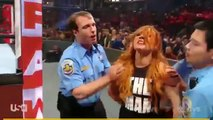 Becky Lynch Charlotte Ronda Rousey arrested by police 1_4_2019