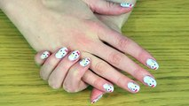 Facile DIY Français: Vernis à Ongles Hello Kitty | Hello Kitty Nail Art | DIY French Style