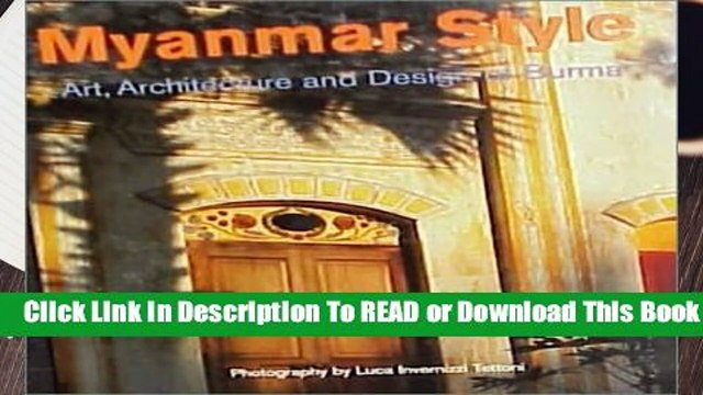 Full E-book Myanmar Style  For Kindle