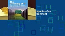 The Greening of IT: How Companies Can Make a Difference for the Environment  Best Sellers Rank :