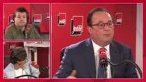 """François Hollande : """"On ne peut pas imaginer que le pouvoir ait comme stratégie de se retrouver face au Front national"""""""