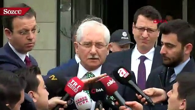 YSK Başkanı Sadi Güven'den  'itiraz' açıklaması