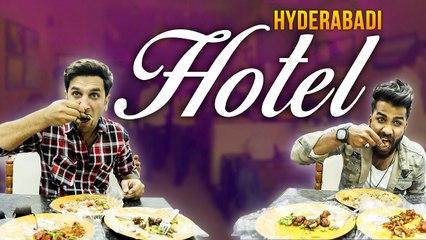 HYDERABADI HOTEL  Funny Prank at hotel  Kiraak Hyderabadiz
