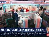 L'édito de Christophe Barbier: Macron, visite sous tension en Corse