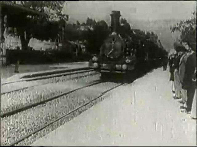 Lumière: L'Arrivée d'un train à La Ciotat (1896)