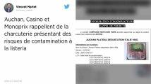 Monoprix, Casino et Auchan rappellent plusieurs lots de charcuterie contaminés par la Listeria
