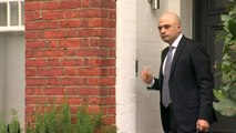 Sajid Javid leaves home for Cabinet meeting