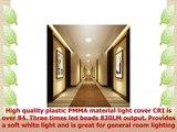 GOODSMANN Easy Spin LED Ceiling Light 7 inch 115 Watt LED Ceiling Light 4000K Cool White
