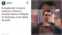 Débat des européennes: la justice ordonne à France 2 d'inviter Asselineau, Hamon et Philippot
