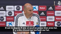 Zinedine Zidane pense que Raphaël Varane est bien au Real Madrid
