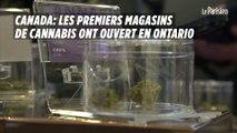 Canada : les premiers magasins de cannabis ont ouvert en Ontario