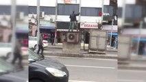 Diyarbakır'da Bir Kişi Benzin Döküp Kendini Yakmaya Kalkıştı