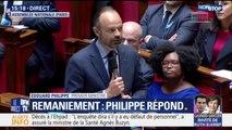 """Édouard Philippe: """"Dans ce gouvernement personne ne veut dire autre chose que les faits... tout le reste c'est du bullshit"""""""