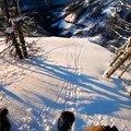 La descente folle du snowboarder américain Travis Rice