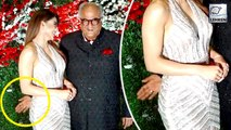 Urvashi Rautela Reacts On Boney Kapoor's Inappropriate Touch
