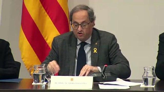 El Tribunal Superior de Cataluña imputa a Torra por desobediencia a la Junta Electoral
