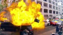 The visual effects in The Fast and Furious