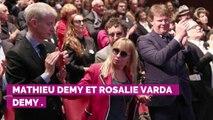 PHOTOS. Obsèques d'Agnès Varda : son fils Mathieu et sa fille Rosalie émus pour un dernier hommage