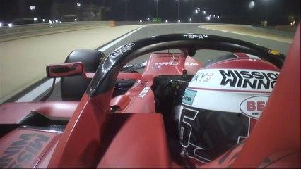 أسرع لفة لصالح لوكلير في سباق البحرين