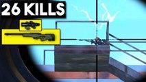 AWM 8x SCOPE = WIN | 26 KILLS SOLO | PUBG Mobile