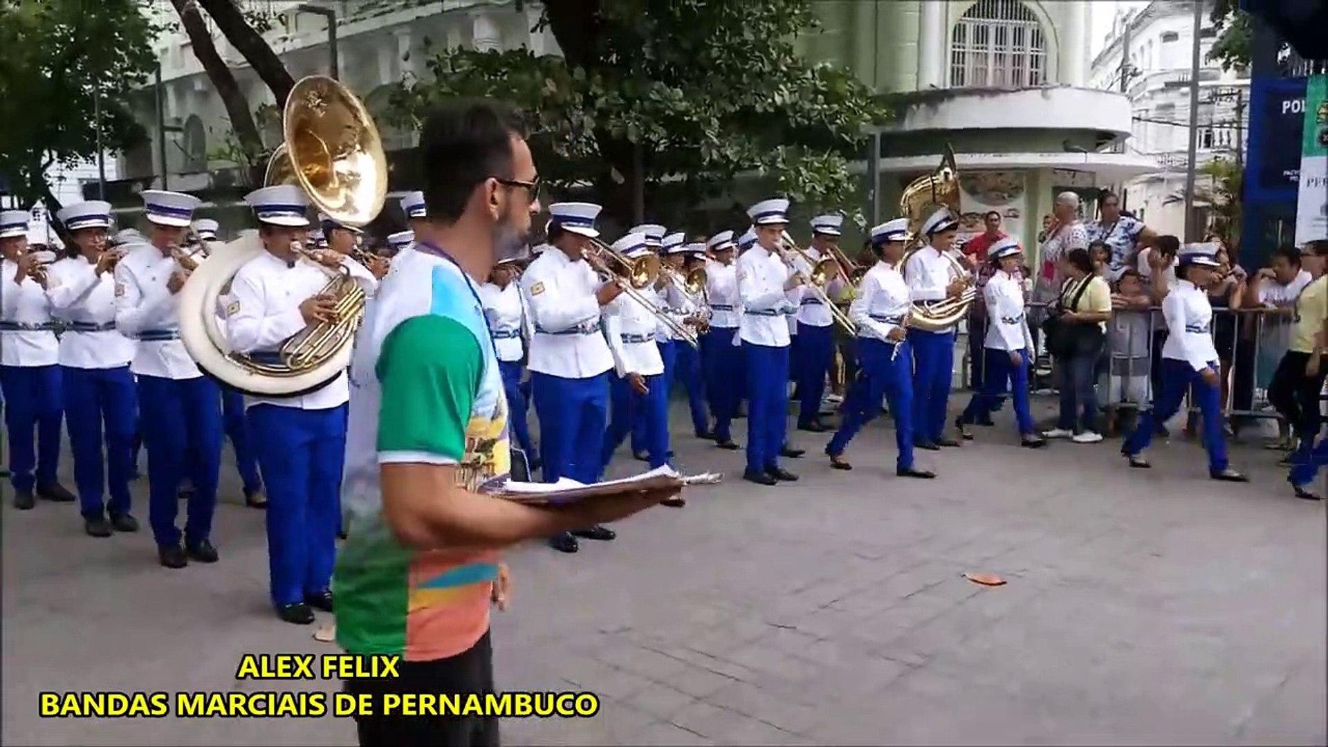 CNBF - 2018 _ Banda Musical Nemezio Ramos _ CAMPEONATO NACIONAL DE BANDAS E FANFARRAS EM RECIFE PE