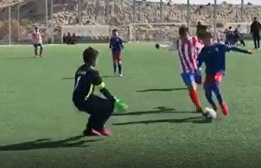 El hijo de Valverde destaca como futbolista