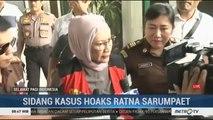 Jaksa Hadirkan 4 Saksi di Sidang Ratna Sarumpaet