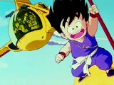 Dragon Ball Cap-6 Parte 1-6 Goku Bulma y Oolong intentar descansar mientras son asechados
