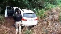 PRF apreende veículo carregado com maconha