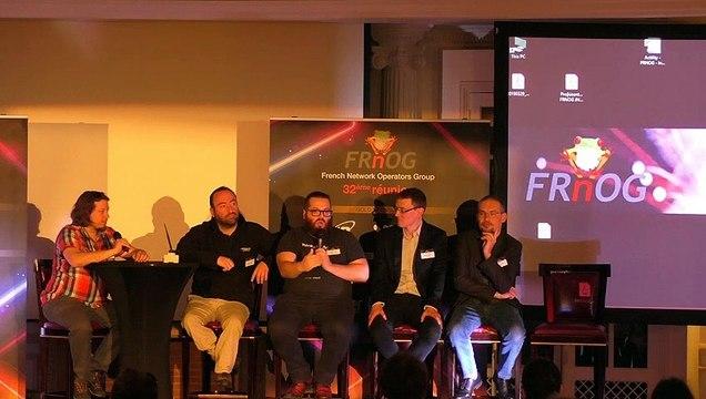 FRnOG 32 - Table-Ronde : La mort du DC privé, cloudification, browserification... vers un minitel 3.0 ? avec Quentin Adam, Vivien Gueant, Philippe Langlois, Jerome Nicole, Kevin Polizzi
