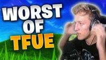 When TFUE Plays Fortnite Like a Noob - WORST OF TFUE | FORTNITE BATTLE ROYALE