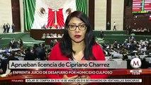 Diputados aprueban licencia a Cipriano Charrez