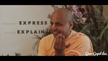 Relationships - 4 Questions For Success by Swami Gaur Gopal Das