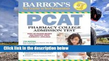 Review  Barron's PCAT: Pharmacy College Admission Test - Marie A. Chisholm-Burns