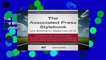 The Associated Press Stylebook 2018: and Briefing on Media Law (Associated Press Stylebook and