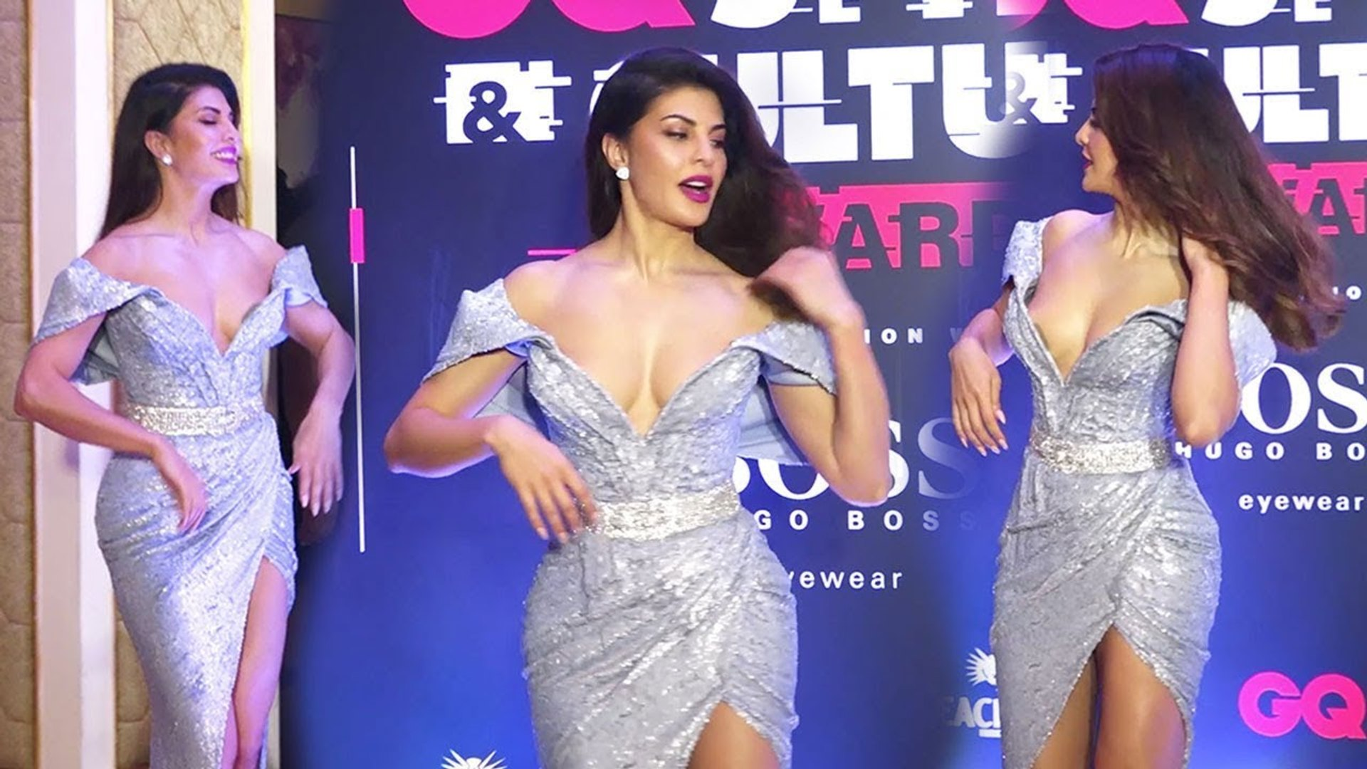Jacqueline Fernandez At Red Carpet Of GQ Style & Culture Awards 2019 Many Celebs Snapped