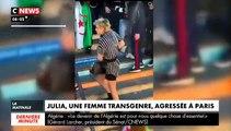 La femme transgenre agressée à Paris témoigne et raconte son agression sur CNEWS