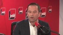 """Benoît Hamon, candidat du mouvement Génération-s aux élections européennes : """"Aujourd'hui je ne vis pas de la politique, je dirige une société que j'ai crée, je n'ai rien à voir avec un politicien professionnel"""""""