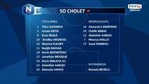Composition de l'équipe de Cholet