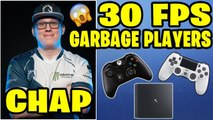 Liquid Chap GOES OFF on Console Players and says CONSOLES ARE TOO TRASH TO COMPETE | Fortnite Battle Royale