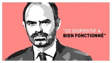 Edouard Philippe premier ministre,  sur TF1  le 7 janvier