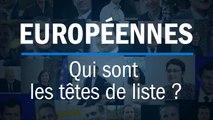 Élections européennes : qui sont les têtes de liste ?