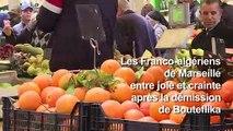 Algérie: à Marseille, les Franco-algériens entre joie et crainte