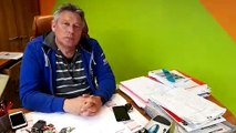 Creutzwald : Patrick Schroeder, instructeur moto , expose les conditions du passage du permis moto