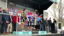 Ciclismo - Mathieu Van Der Poel gana A Través de Flandes , Anthony Turgis segundo